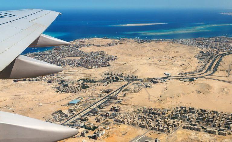 Flying Over Hurghada